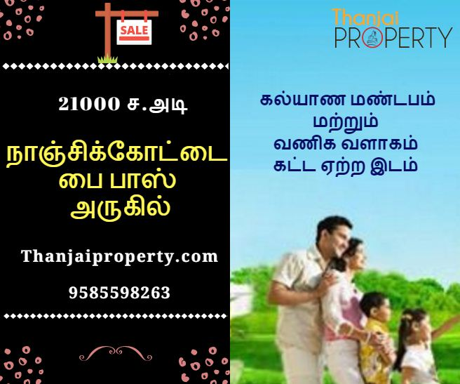 Nanjikottai Byepass Commercial land Sale