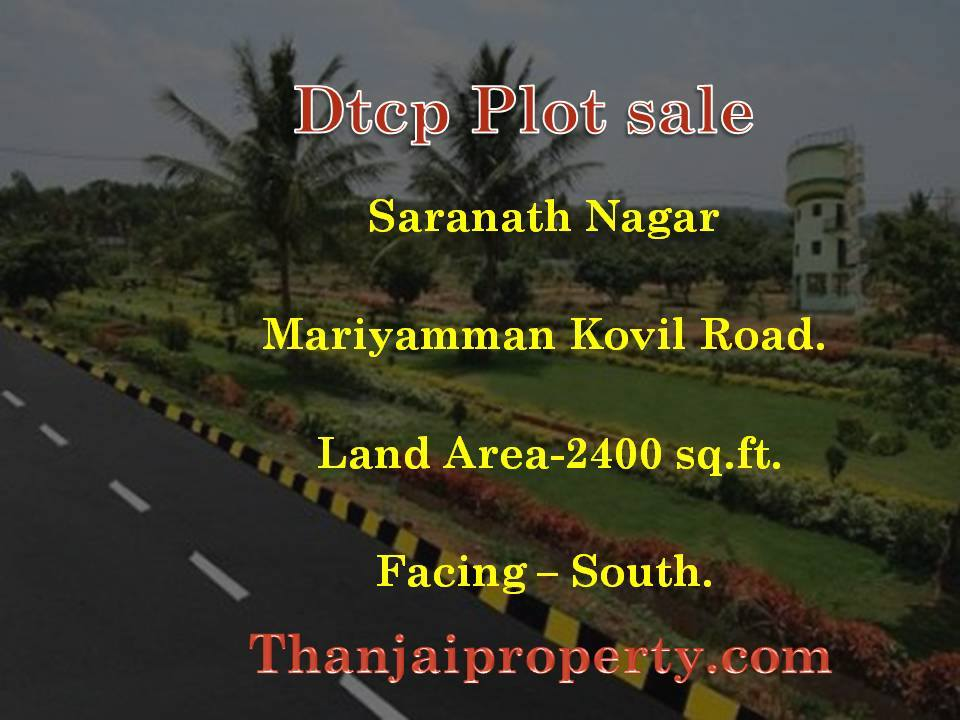 Saranath nagar DTCP land for sale