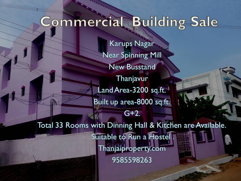 Commercial Building for sale.