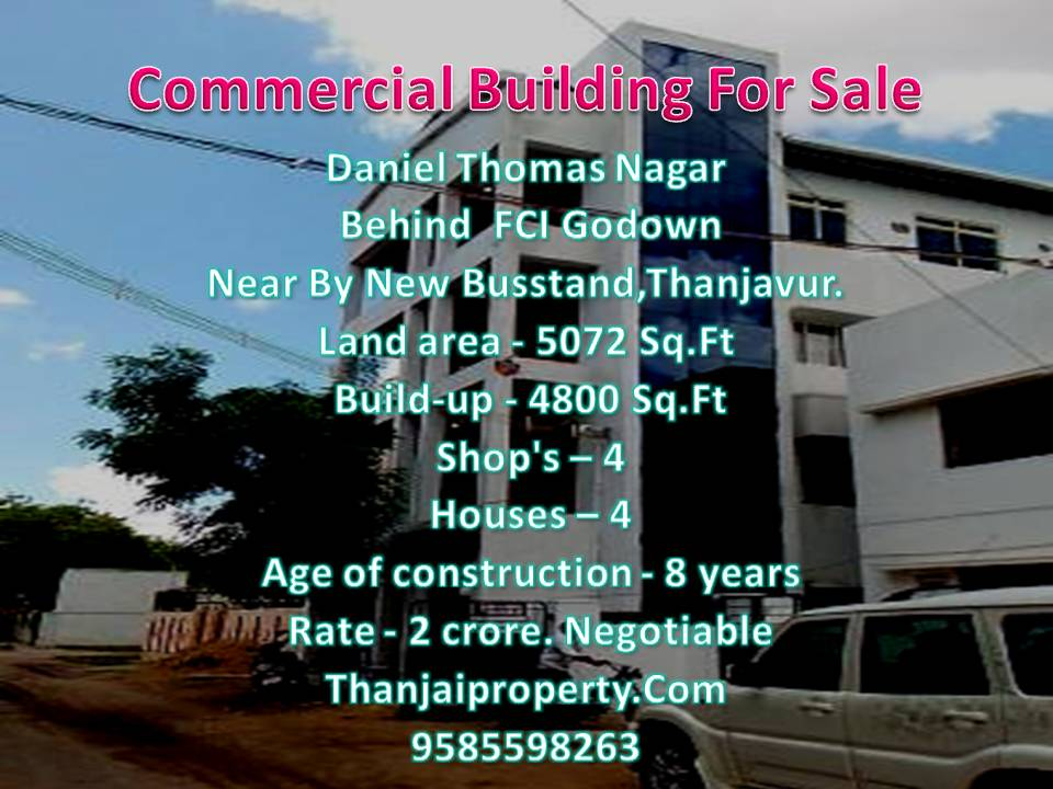 Commercial Building for sale in Daniel Thomas Nagar