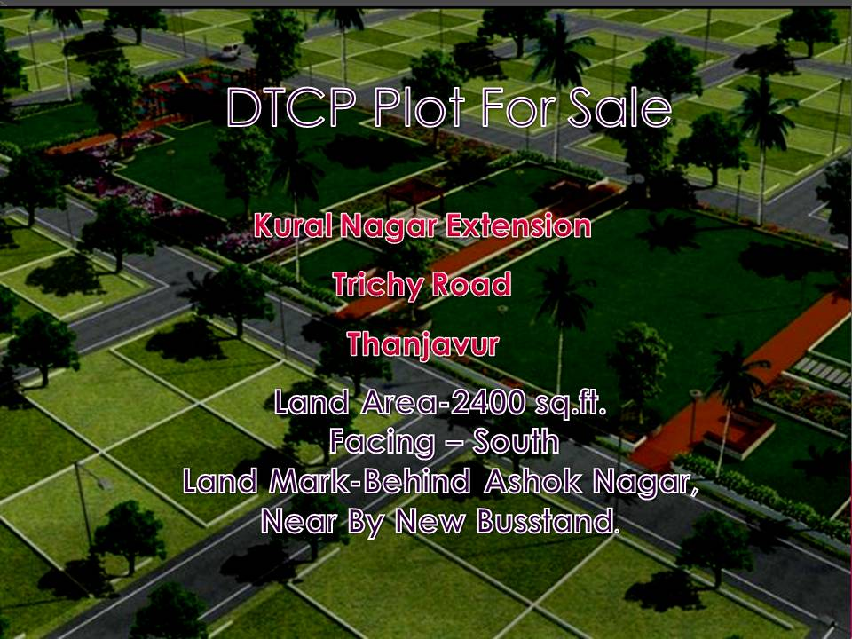 Kural Nagar Extension Plot for sale