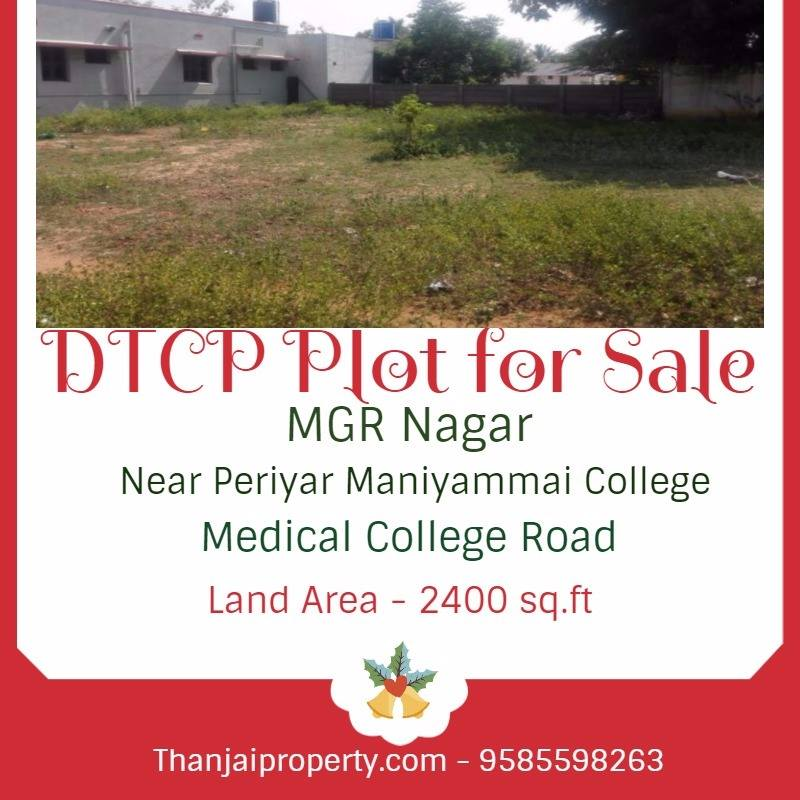 DTCP Plot For Sale Medical college Road