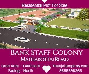 Bank Staff Colony ,Mathakottai Road Plot Sale