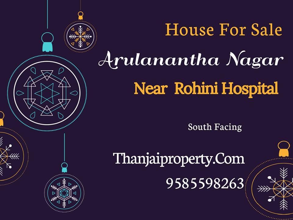 Arulanandha nagar House Sale