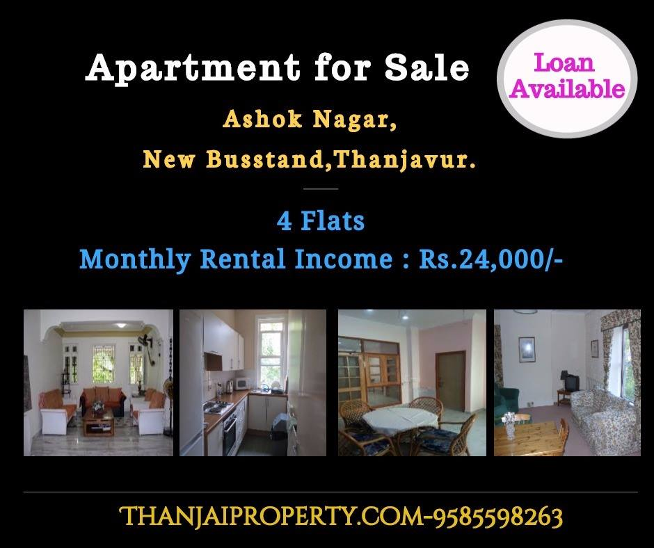 Apartment For Sale at Near New Busstand Ashok Nagar