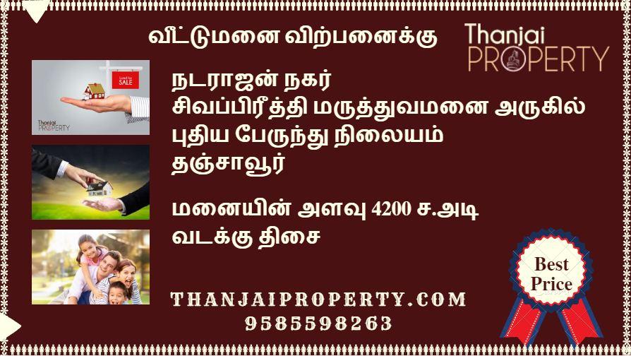 Natarajan Nagar Plot for Sale